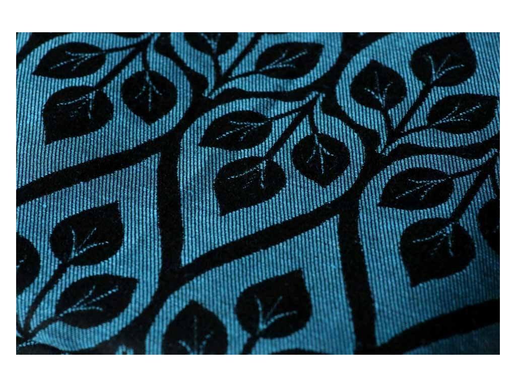 Yaro Ring Sling La Vita Blue-Black Linen