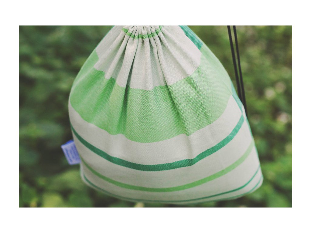 Little Frog Bag Bamboo Tsavorite