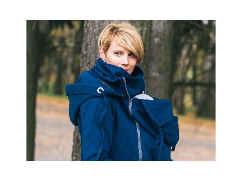 Lenka Tepláková mikina Modrá 4 v 1