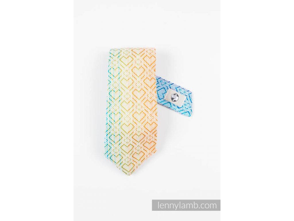 LennyLamb kravata Big Love Rainbow