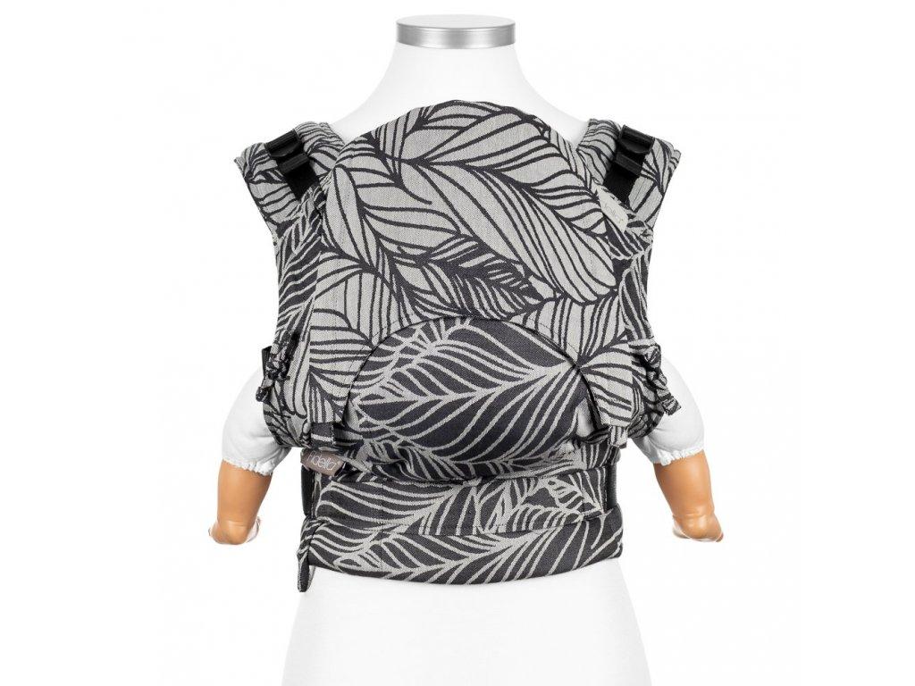 Fidella Fusion Babysize Dancing Leaves Black & White