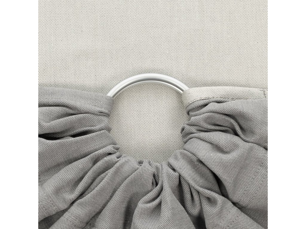 Fidella ring sling Chevron Light Gray
