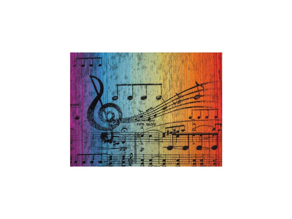 LennyLamb Šála Symphony Rainbow Dark