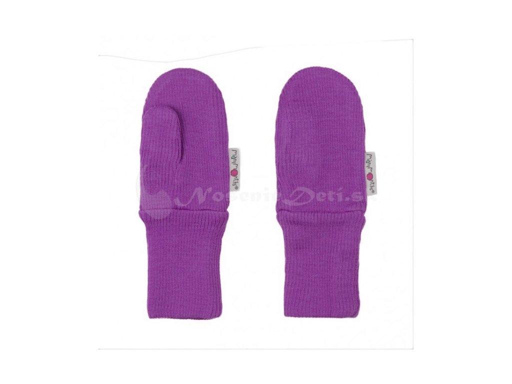 Manymonths rukavice s palcem Violet Lotus