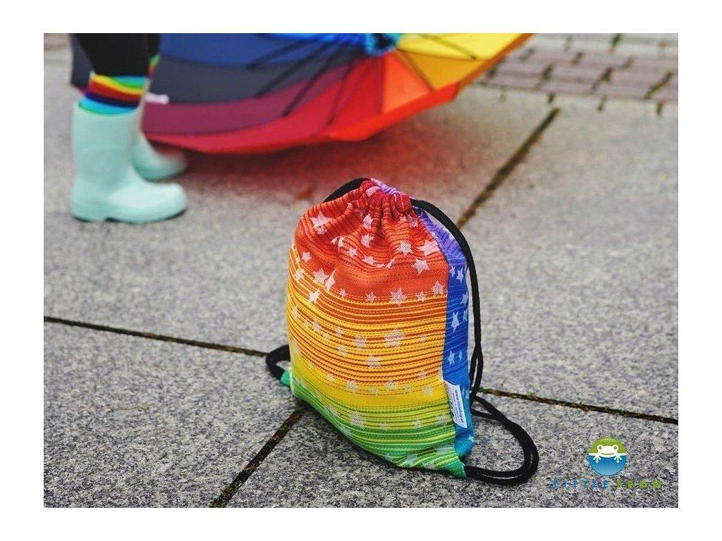 Little Frog Bag Rainbow Stars