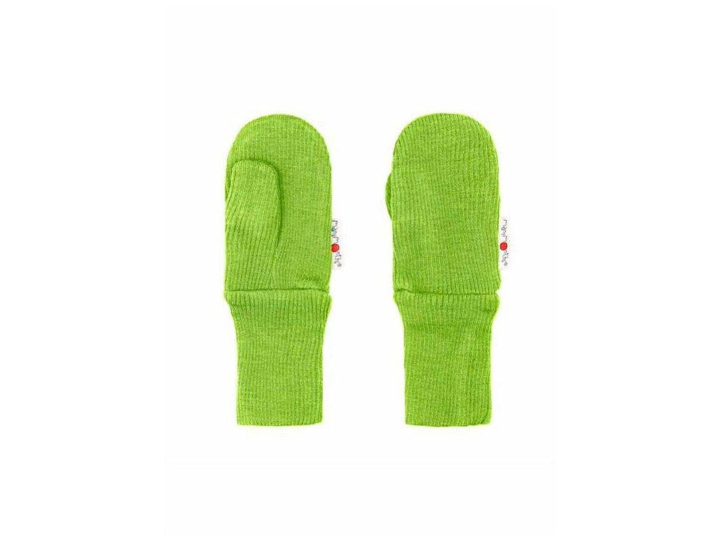 Manymonths rukavice s palcem světle zelené