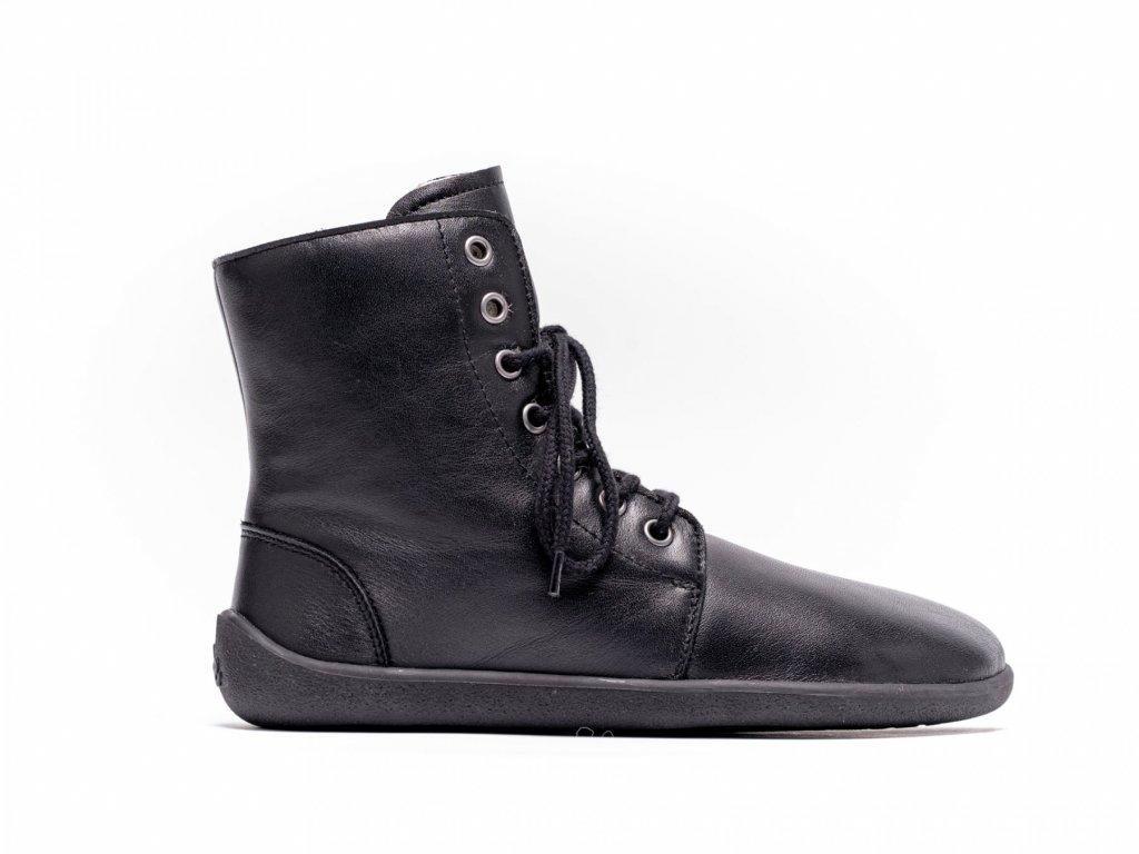 Barefoot kotníkové Be Lenka Winter Black