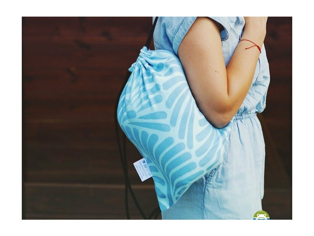Little Frog Bag Skyblue Plumes