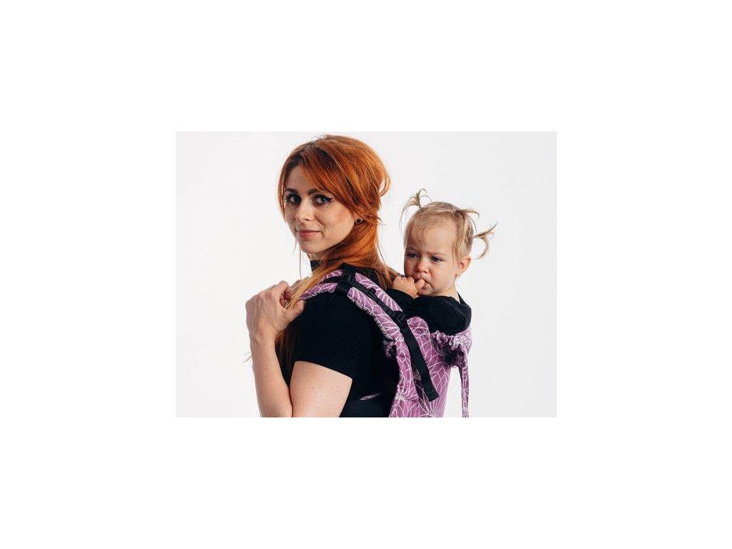 LennyLamb Onbuhimo Toddler Size Lotus Purple