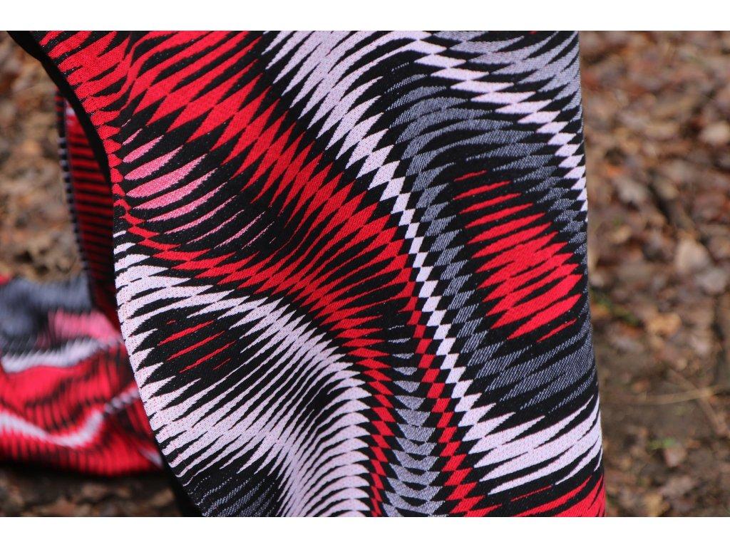 Yaro Hypnotic Spongy White Red Black
