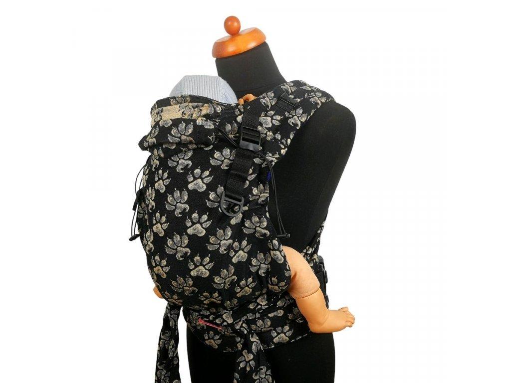 Moisha novorozenecké nosítko HuGo Paws Caramel