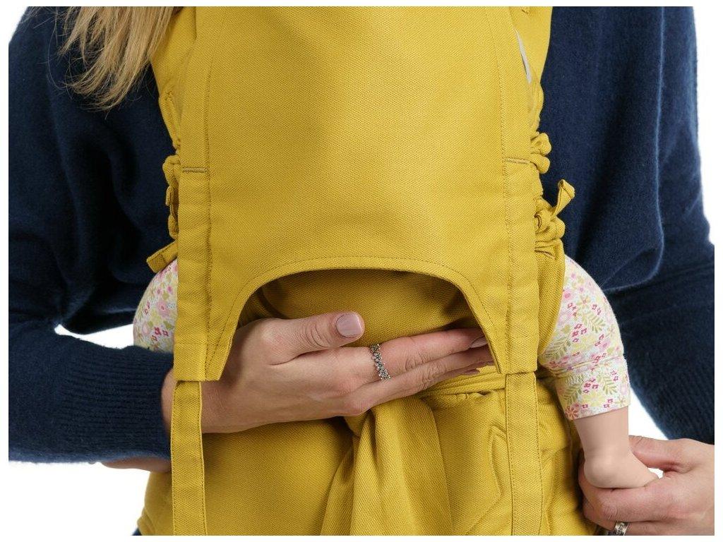 Fidella FlowClick Baby Chevron Mustard