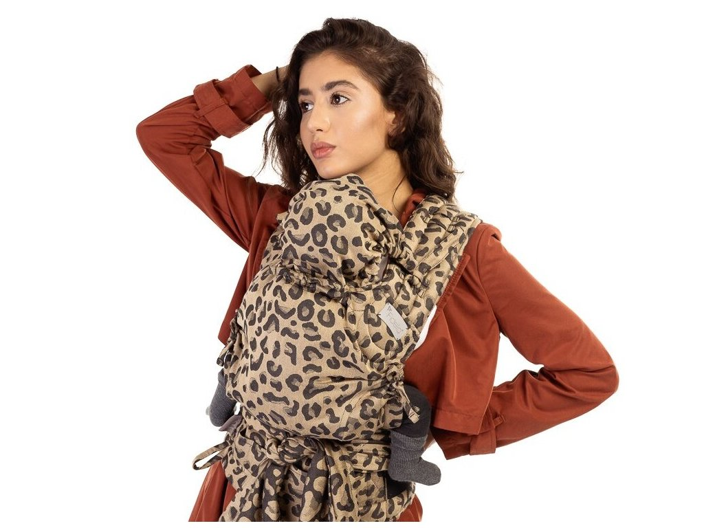 Fidella FlyClick Baby Leopard Gold