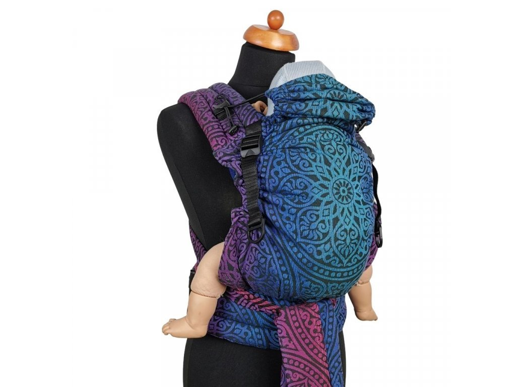 Moisha novorozenecké nosítko HuGo Florentine Dark Aurora Scuba