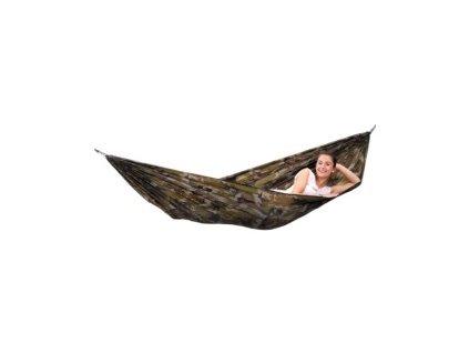 houpací síť Travel set camouflage