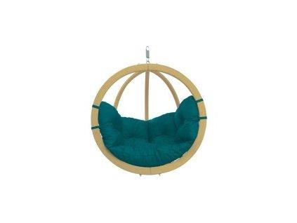 houpací křeslo Globo chair green