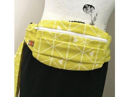 Tekhni Hipsack bag Delta Citron
