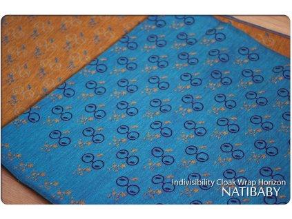 Natibaby Indivisibility Cloak Wrap Horizon 15% bambus