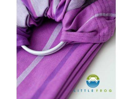 Little Frog Ring Sling Amethyst 45 % bambus