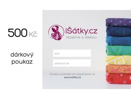 Dárkový poukaz - iŠátky.cz