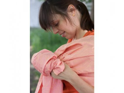 Loktu She Ring Sling Bird Garden Apricot Ice Cream