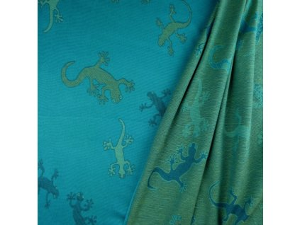 Didymos šátek na panenky Gekoni Smaragd
