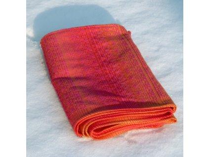 Didymos šátek na panenky Ada pink Turmalin
