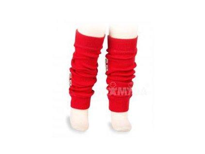 Manymonths návleky na ruce a nohy Poppy Red