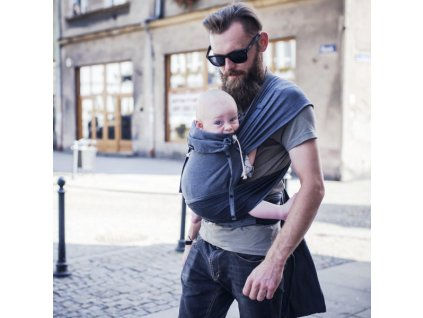 Didymos DidyKlick Doubleface Anthrazit