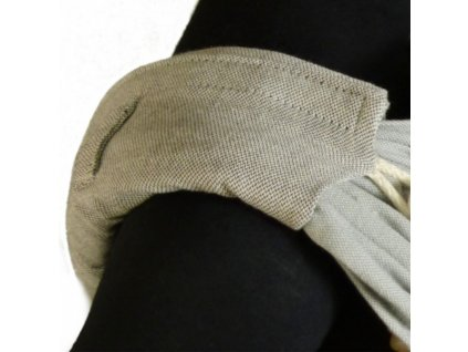 Didymos DidyPad Silver - ramenní vycpávky pro nosítka DIDYMOS