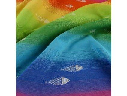 Didymos šátek na panenky Regenbogenfische