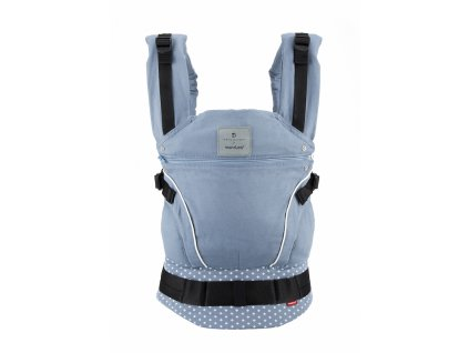 bellybutton manduca WildCrosses carrier blue front 2400px
