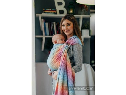 LennyLamb Ring Sling Big Love Rainbow