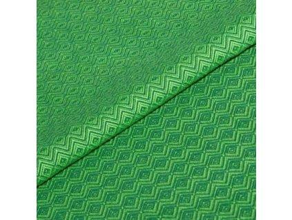 Šátek ŠaNaMi - Crystallis zelený