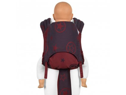 Fidella FlyTai Toddler size Outer Space Ruby Red