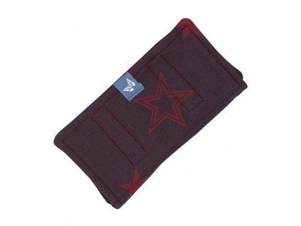 Fidella ochranné návleky Outer Space Ruby Red
