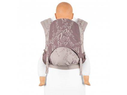 Fidella Mei Tai Toddler size Feel Free Lilac Grey