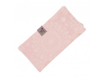 Fidella ochranné návleky Iced Butterfly Pale Pink