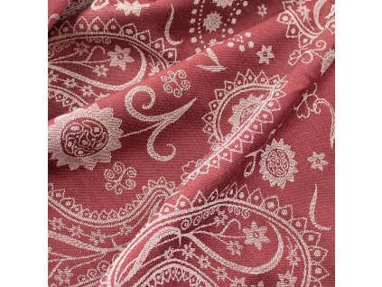 Fidella Persian Paisley Ruby Red