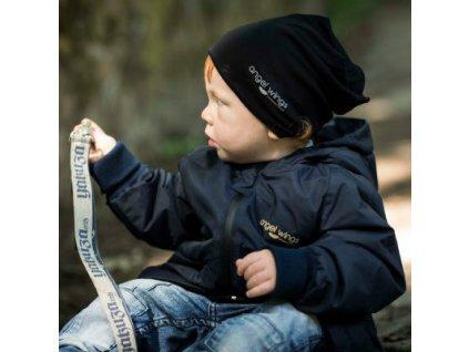 Angel Wings Dětská bunda tmavě modrá/hořčicová