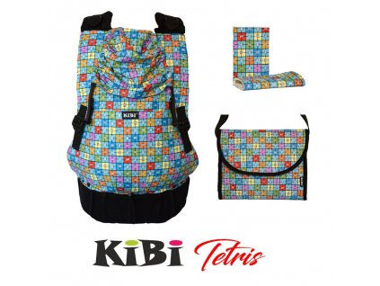 ergonomické nosítko KiBi Tetris