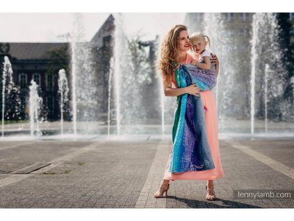 LennyLamb Ring Sling Symphony Pure Joy
