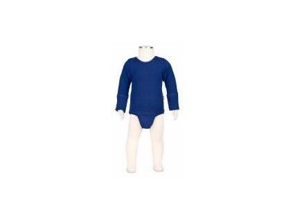 Manymonths body/tričko merino 18 Jewel Blue