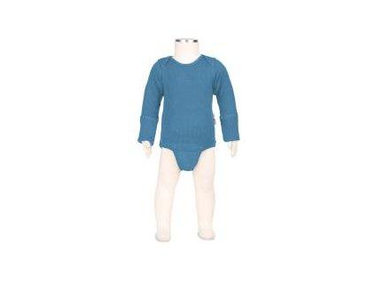 Manymonths body/tričko merino 17 Provence Blue
