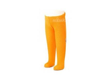 Manymonths merino punčocháče 16 Saffron Yellow