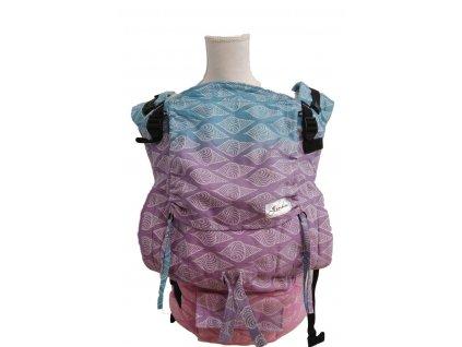 Lenka nosítko 4ever Mušle - Růžový bederní pás