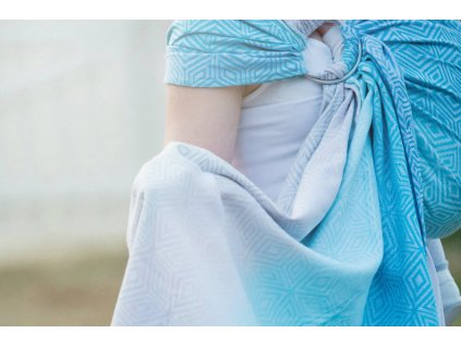 Little Frog Ring Sling Linen Sky Cube