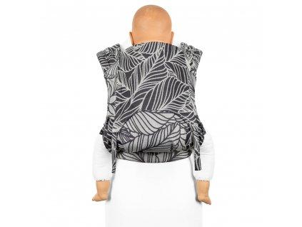 Fidella FlyClick Toddler Dancing Leaves Black & White