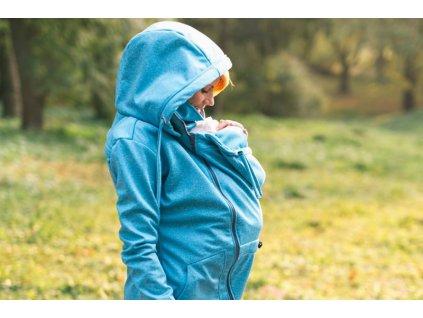 Lenka Softshellová bunda 4 v 1 Tyrkys