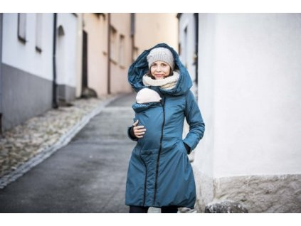 Angel Wings Zimní kabát Tmavý Tyrkys